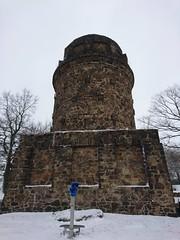 Bismarckturm (Fotos von Helmut) Tags: bismarckturm radebeul weinberge winter schnee