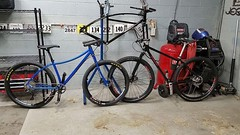 A couple of my customers having a new bike day build party