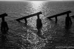 20170121-IMG_2466 (SGEOS@EARTH) Tags: marken schiereiland holland water lighttower canon sun winter blackwhite