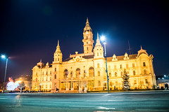 Town Hall Győr (davidpetson) Tags: győr town hall night