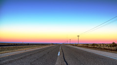 New Mexico Desert Sunset (Explored 25 December 2016) (Ian Charleton) Tags: sunset newmexico desert highway us70 highway70 landscape spectrum sky