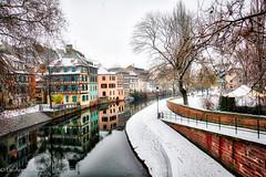 La Petite France (Loopylou2u) Tags: strasbough france lapetite canals winter europe