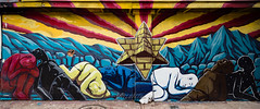 GOODMORNING ARIZONA! (Dennis Valente) Tags: 5dsr art paintphx contemporaryurbanart paintphoenix streetart sw southwestern pyramidcountry mural valleyofthesun urbanart southwest spraypaint 2016 paint rooseveltrowartsdistrict hdr phoenix arizona isobracketing jjhorner wallart rooseveltrow