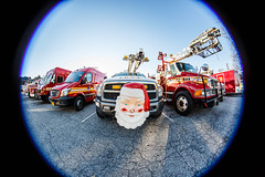 Santa is a member of the FDNY (skingld) Tags: sprinter firetruck fisheyelens santaclaus nyc newyorkcity ford parksdepartment queens fdny truck forttotten newyork unitedstates us dodge