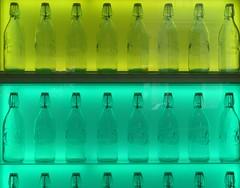 Bottles (XoMEoX) Tags: transparent bottles flaschen bottle flasche green blue grün blau greenblue grünblau light licht illuminated illumination beleuchtet beleuchtung regal fz50 colors colours farben bügel bügelverschlus bügelverschluss bügelverschlussflasche bügelverschlussflaschen glass glas glasflaschen glasflasche milk puremilk milch milchflaschen milchflasche