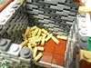LEGO: Welcome Home (6) (Ferdinand Tunnelley) Tags: lego house moc white background hay vignette