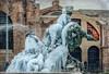 10 gennaio 2017. Roma, Piazza della Repubblica, fontana delle Naiadi ghiacciata (adrianaaprati) Tags: ghiaccio ice frosty inverno winter gennaio january 2017 fountain roma italy freezedwater scultura sculpture arte art naiadi naiads ninfe nymphs mythology texture