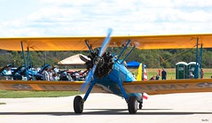 walking the runway... (Stu Bo) Tags: sbimageworks smooth sunlight summer scenery aircraft airplane airshow airport runway engine endofsummer beautiful carshow wings biplane vintage rebel retro machine hangingoutwiththefamily happiness horsepower goodtimes alltypesoftransport usa