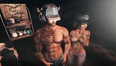 Rock On (lndya and Leeaker) Tags: isuka tattoos signatureevent codex bracelet menonlymonthly merak ks pose