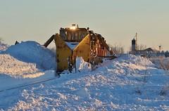 Cleaning Out - Max, ND (MinnKota Railfan) Tags: railfan rail train canadian pacific railway sd60 spreader jordan snow moving equipment north max dakota