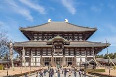 Tōdai-ji Temple, Nara, Japan (patuffel) Tags: nara japan todaiji temple buddhism budha