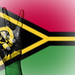 Peace Symbol with National Flag of Vanuatu