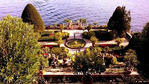 Lago Maggiore: The gardens of the Isola BellaI giardini dell'Isola Bella