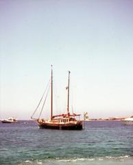 june 1978 fashion fishing boat water sail