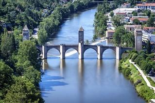 Top of Valentré bridge