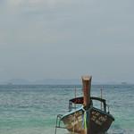 Thailand - Krabi - Railay - Phra Nang Beach - longtail thumbnail