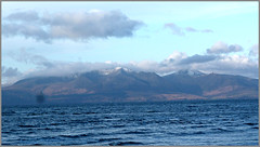 Isle of Arran in the Firth of Clyde Scotland.