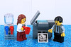 Monday Morning Blues (Lesgo LEGO Foto!) Tags: lego minifig minifigs minifigure minifigures collectible collectable legophotography omg toy toys legography fun love cute coolminifig collectibleminifigures collectableminifigure mondaymorning monday morning coffee blues office officelady staff photocopier photocopyingmachine
