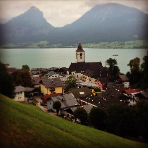 St. Wolfgang #austria #salzkammergut #wolfgangsee #alps