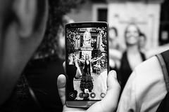 En el móvil [Explore] (BuRegreg) Tags: street city urban calle spain streetphotography ciudad andalucia explore granada urbana streetphoto callejera 2015