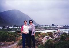 francois_kelly_hermanus02 (fjordaan) Tags: hermanus southafrica fran 1999 scanned kelly sa