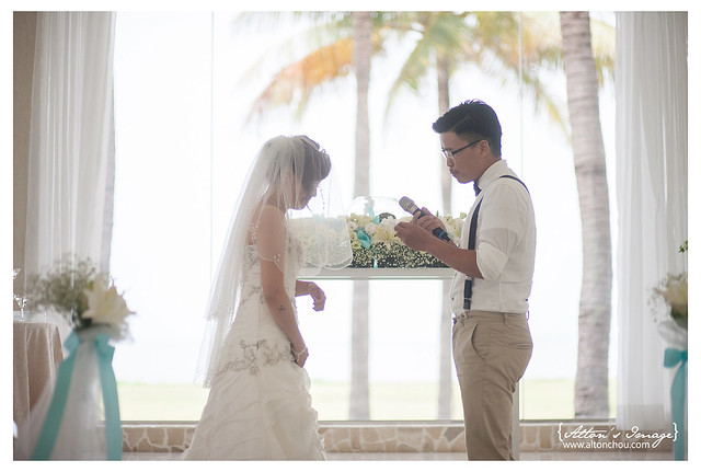 [婚攝] Eric & Annio 婚禮紀錄 // 高雄西子灣沙灘會館