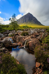 Buachaille Etive Mor, Glen Coe, Scottish Highlands - Lee Big Stopper (capturedcanvas.co.uk) Tags: longexposure travel chris mountain holiday mountains tree green art water grass clouds digital canon reflections river lens landscape photography photo highlands holidays rocks long exposure flickr paradise cloudy britain captured picture dramatic smith glen canvas coastal filter lee printing glencoe daytime usm colourful filters fell etive longshutterspeed buachailleetivemòr photosoncanvas