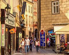 Prague Street (stephencurtin) Tags: street republic czech prague lane narrow