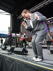St. Paul and the Broken Bones at The Landing Festival.