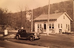 River Road Filling Station. (63vwdriver) Tags: road station vintage river gulf cola good connecticut ct gas pump route springs service gasoline coca 32 filling stafford