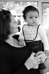 Tina and Christian 9/26/15 (Sivyaleah (Elora)) Tags: baby mom child mother