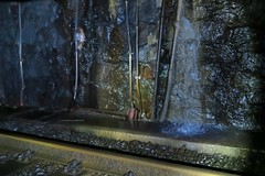 Gotthard Inside I (Kecko) Tags: railroad water underground geotagged schweiz switzerland tessin ticino wasser suisse swiss kecko eisenbahn railway tunnel sbb svizzera bahn sangottardo gotthard 1882 2015 gotthardtunnel eisenbahntunnel swissphoto railtunnel bahntunnel scheiteltunnel geo:lon=860085 geo:lat=4654459