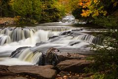 Ontonagon River, Middle Branch (nikons4me) Tags: autumn up mi river fallcolor michigan rapids cascades upperpeninsula bondfalls ontonagoncounty middlebranch ontonagonriver nikonafsdxnikkor35mmf18g nikond7100
