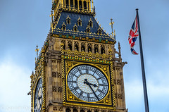 The Union DSC_6694-Edit.jpg (Sav's Photo Gallery) Tags: uk london clock soldier flag housesofparliament londoneye bigben clocktower elizabethtower savash