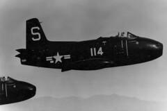 VF-5A FJ-1 Fury BuNo 120363, S-114 (skyhawkpc) Tags: 1948 airplane aircraft aviation navy naval usnavy usn fury northamerican infligh fj1 s114 120363 vf5ascreamingeagles