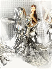 Reflection (dddDolls) Tags: silver photo doll dress fr eugenia decorum