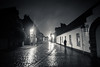 Time & Mystery Travel (Gilderic Photography) Tags: street travel house rain silhouette night lumix lights belgium belgique belgie time pluie panasonic bruges past maison rue nuit lumber gilderic lx3 dmclx3