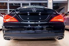 Mercedes-Benz CLA 220 CDI AMG - 170 c.v - Negro Obsidiana - Piel Negra - Techo Panorámico