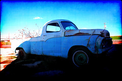 Truckin' Outta Abilene (Groovyal) Tags: art cars race truck vintage photography texas engine fast historic studebaker abilene truckin motorcars abilenetx groovyal truckinouttaabilene