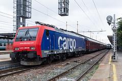 SBB E474 009 (railphoto) Tags: train zug sbb cargo bahn alessandria ferrovia eetc e474 autoslaap arenaways
