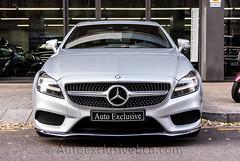 Mercedes - Benz CLS 350 BT 4Matic Coupè AMG - 252 c.v - Plata Iridio - Piel Passion Negra
