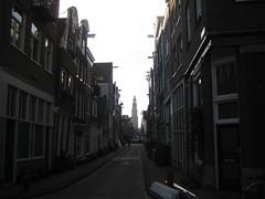 Westertoren, Jordaan. (clascaris) Tags: haze jordaan westertoren