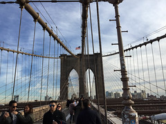 Brooklyn Bridge (Bitmapped) Tags: brookylnbridge newyork newyorkcounty usa