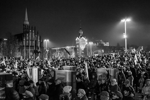 13th December 2016, Stettin-Szczecin, KOD manifestation
