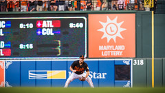 Orioles Baseball '16 (R24KBerg Photos) Tags: 2016 baltimoreorioles baltimore ballpark baseball orioles orioleparkatcamdenyards canon camdenyards mlb majorleaguebaseball majorleagues maryland md sports chrisdavis crushdavis firstbaseman crush aleast americanleague al