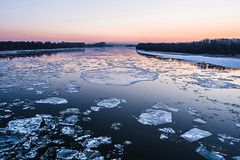 (halagabor) Tags: ice icy river winter budapest danube