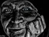 Selfie (konstantin oxy) Tags: selfie mann sw darkness dunkel man finsternis düster dunkelheit