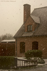 Winter (Natali Antonovich) Tags: winter tervuren snow frost lifestyle snowfall architecture belgium belgie belgique tradition houses christmasholidays christmas