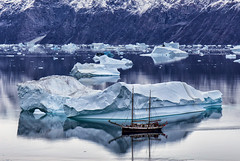 Greenland the unspoiled natural beauty (yan08865) Tags: outdoor greenland sailing sail icebergs nature landscapes hiking expedition adventures ice glaciers supershot
