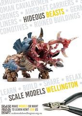 Scale Models Wellington - Hideous Beasts